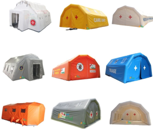 namiot sanitarny